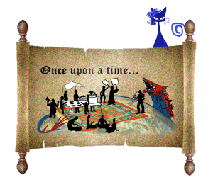 Once upon a time scroll
